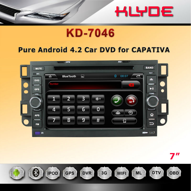 No.1 Supplier!! For captiva Klyde OEM Car Navigation Android