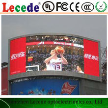 LECEDE hot sale What is the p10 outdoor one color led display panel price