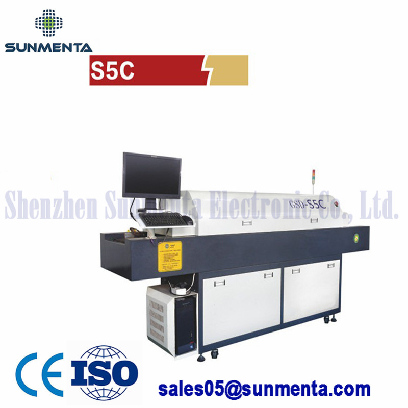 Small Type Hot Air Reflow Oven Led Soldering Machine For Lab Research LED industry