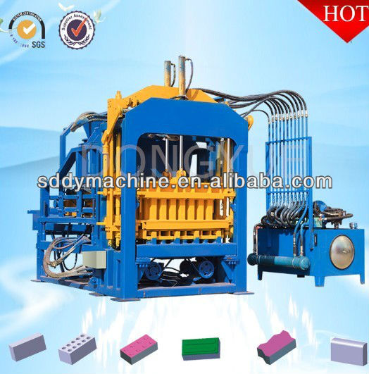 Fully Automatic Fly Ash Brick Making Machine,Hollow Block Manufacture Machine with 30KW Engine Power