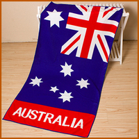 80 Polyester And 20 Polyamid Advertising Flag Beach Towel
