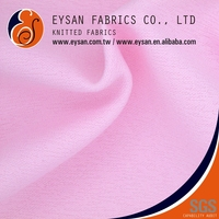 EYSAN Textured Lacing Yarn 100% Polyester Double Knitted Fabric