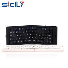 Mini Wireless Keyboard Foldable Bluetooth Keyboard For Smartphone Laptop Tablet PC