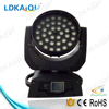 Guangzhou led stage light 36*12w 6in1 zoom wash moving head led