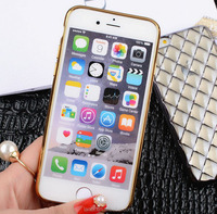 Luxury Diamond Crystal TPU Mobile Phone Case for iphone 6 Customised Mobile Case Cover
