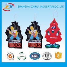 Customized Logo For Promotion Paper Hanging Car Air Freshener wholesale
