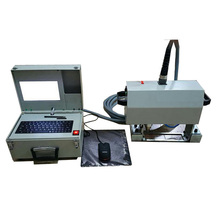 China manufacturer Computer control portable dot peen VIN number marking machine