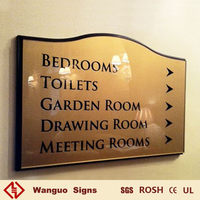 Customized hot selling hotel sign board