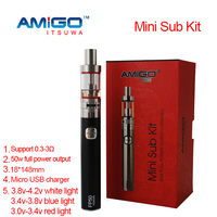 Cloud smoke e cigarette top refill tank e cig mod kit