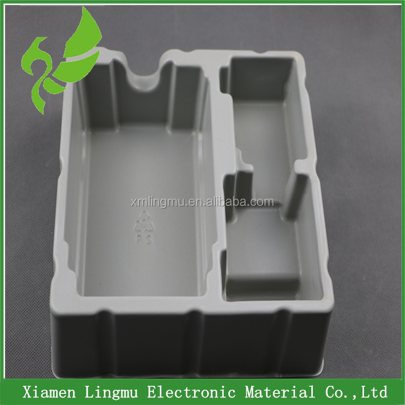 Custom PVC/PS/PET vacuum forming plastic cosmetic tray wholesale