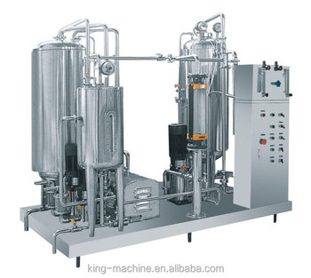 Full automatic carbon dioxide beverage mixing machine/mixer