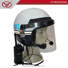Police Anti Riot Helmet/helmet with communications