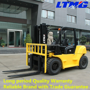 China best choice 7 ton diesel forklift specification