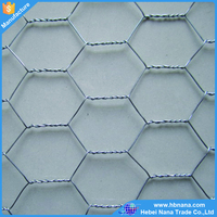 chicken coop wire netting / galvanized and pvc coated hexagonal chicken wire mesh