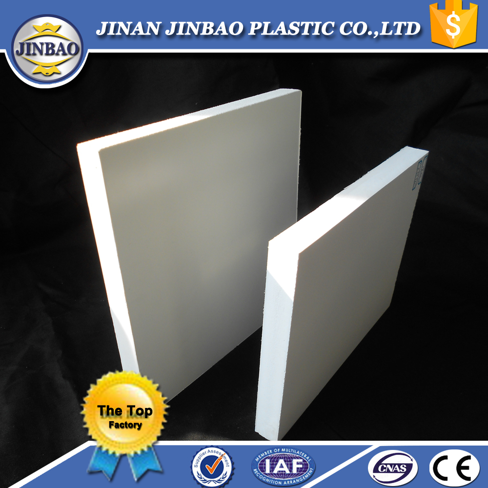 white pvc integral foam sheet for door and wall panel