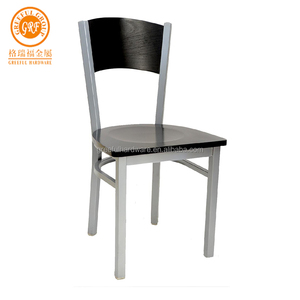 Customized professional chair metal restaurant hot sale restaurant metal chair