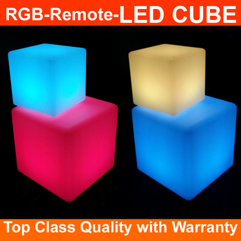 2017 Wholesale new remote control led cube chair waterproof led cube chair lighting 50X50X50CM hot sale in Euro-market