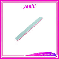 YASHI 100pack Professional Nail Files Washable Double Sided Emery Board