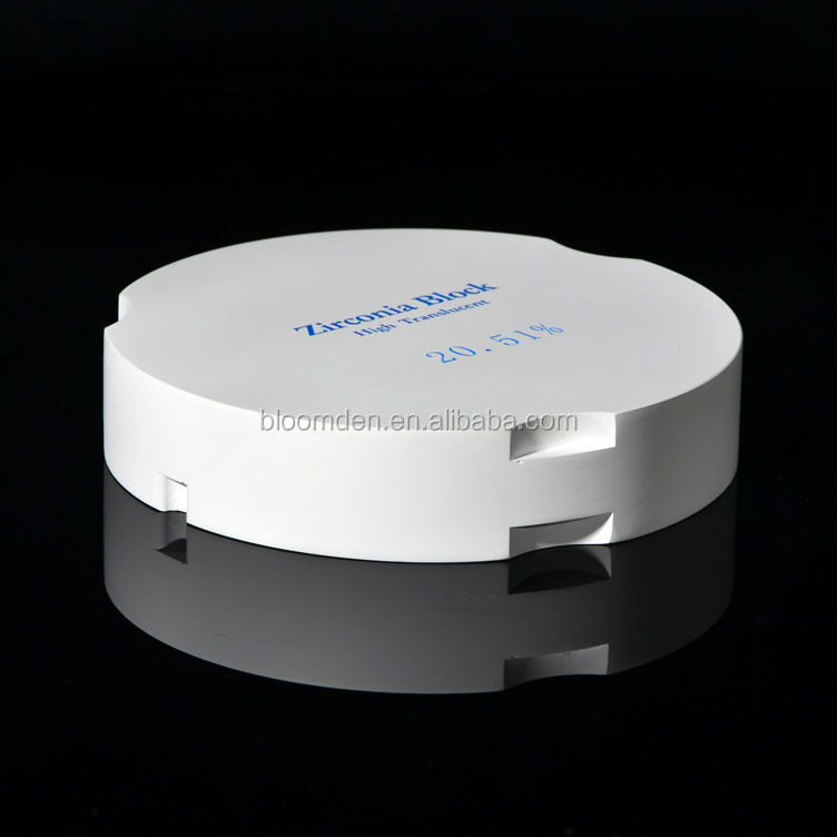 Super translucent Prettau dental cadcam milling zirconia disc