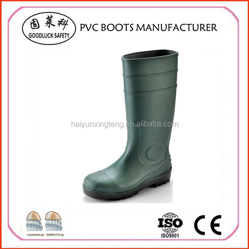 Safety PVC Boots Footwear from China