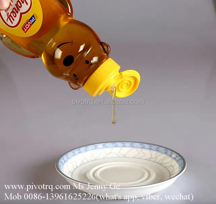250g PET honey bear bottle for packaging honery juice jam