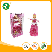NEW Series B/O Walking Beatuy Girl Fashion Plastic Dolls With Music for girl play
