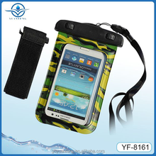wholesale cellphone waterproof bag accessories for iphone 6 s for drifting skiing swimming beach