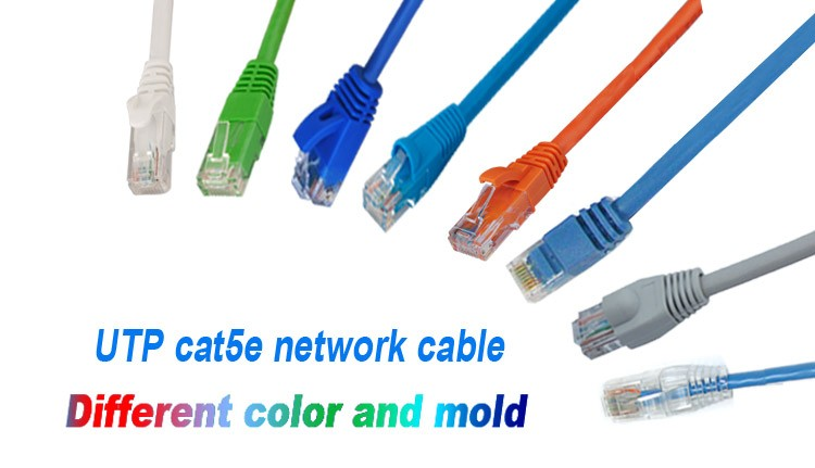 Shenzhen supplier 1m Utp Cat5e Network Cable Fiber Optic Patch Cord