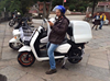 EEC 2000W cargo motorcycle for delivery scooter