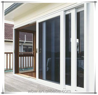 Chinese interior sliding glass PVC doors