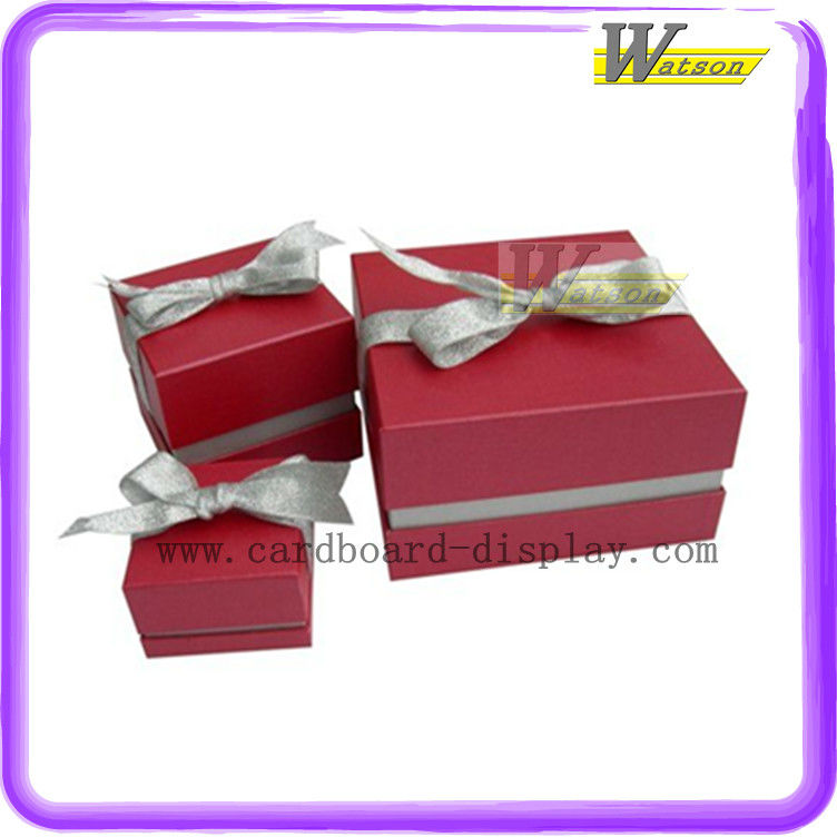 hot sale promotion and chain store square cardboard gift box for christmas gifts