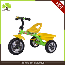 2017 wholesale high quality metal Children baby trike toys cheap tricycle for kids