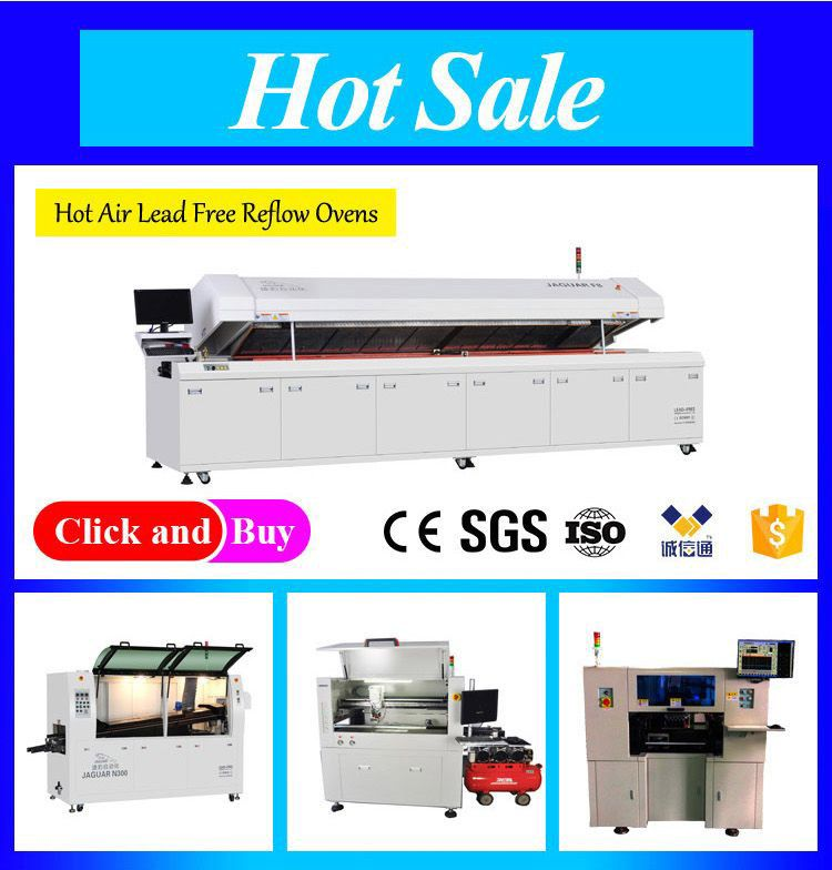 JAGUAR Lead-free Wave Soldering Machine  N350 for SMT/SMD/PCB Production line