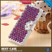 High quality luxury diamond phone case transparent crystal case cover for samsung galaxy s3 mini