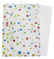 Factory good price custom office use A4 PP plastic document file L shape presentation file folders