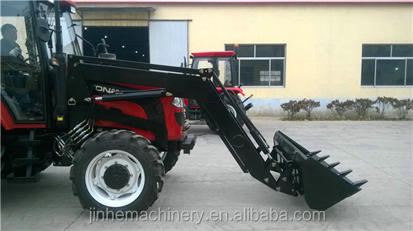 Farm machinery easy operation mahindra tractor front end loader