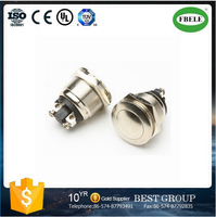 PBS-28B 19mm waterproof switch metal dome switch 19mm push button switch(FBELE)
