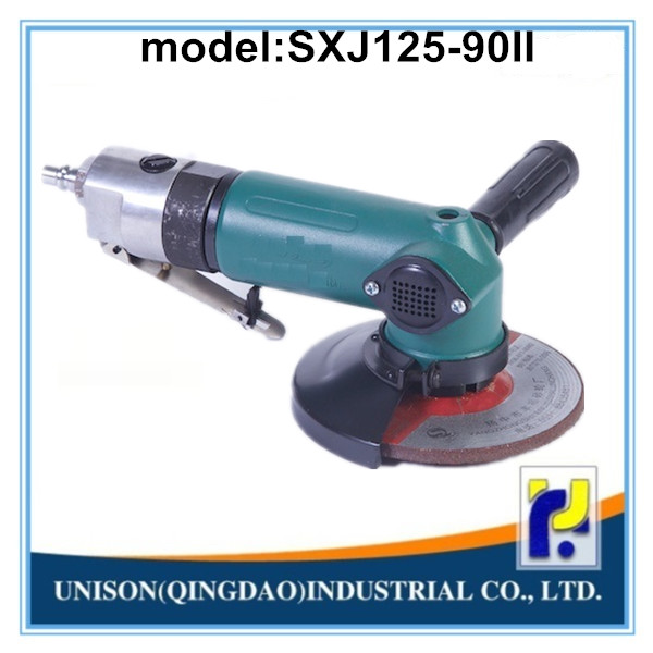 SXJ125-90II size 125mm pneumatic angle grinder