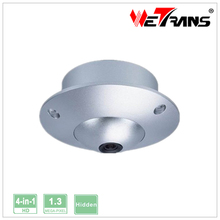 Wetrans TR-X13AH310 3.6mm lens 1.3 Megapixel CCTV Camera Hybrid AHD / HDCVI / HDTVI / CVBS Small Mini Hidden Security Camera