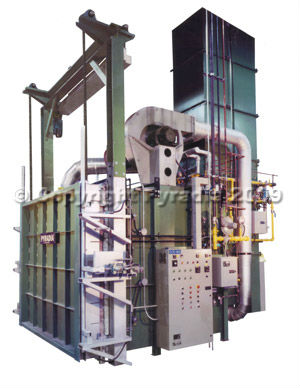 Burn-off oven for investment casting 2200F (1200C)