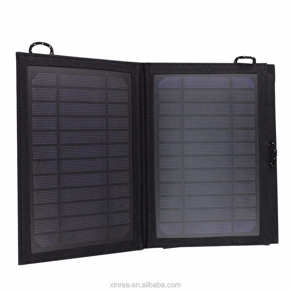 wholesale foldable solar panel charger for charging cell phone iphone android smartphone