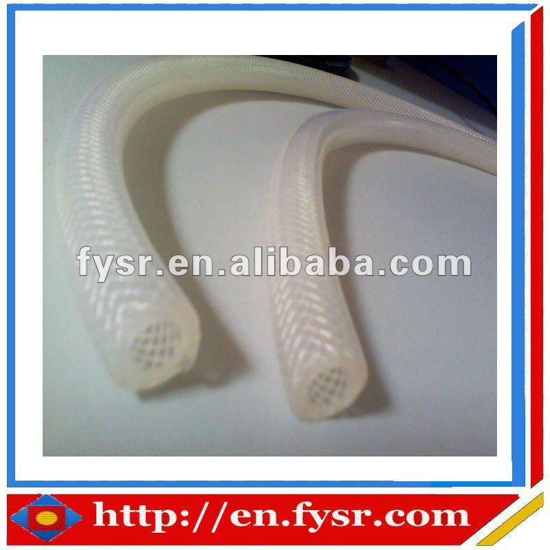 FDA food grade reinforced tubing high strength silicone rubber tubing