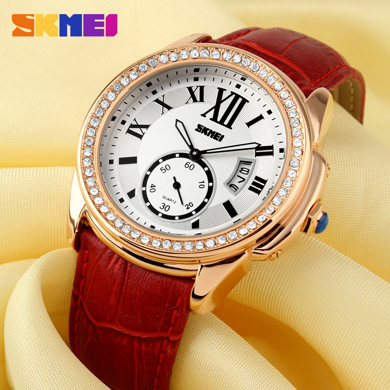 OEM manufacturer fashion leather watches for ladies