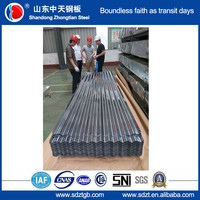 Corrugated roofing sheet/ Wave Tile galvanized corrugated metal roofing sheet for shed