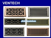 HVAC system grille standard bar grilles for ceiling
