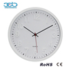 12 Inch White Frame and 3D Digitals Bianco Clock