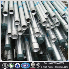 ERW Technique and Round Section Shape rmc rigid galvanized steel pipe