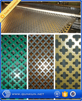 Low price cheap perforated metal panel/perforated plastic mesh sheets/perforated fabric mesh from direct factory