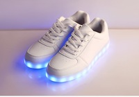 Unisex Women Men USB Charging light Flashing Sneakers LED Shoes made in China