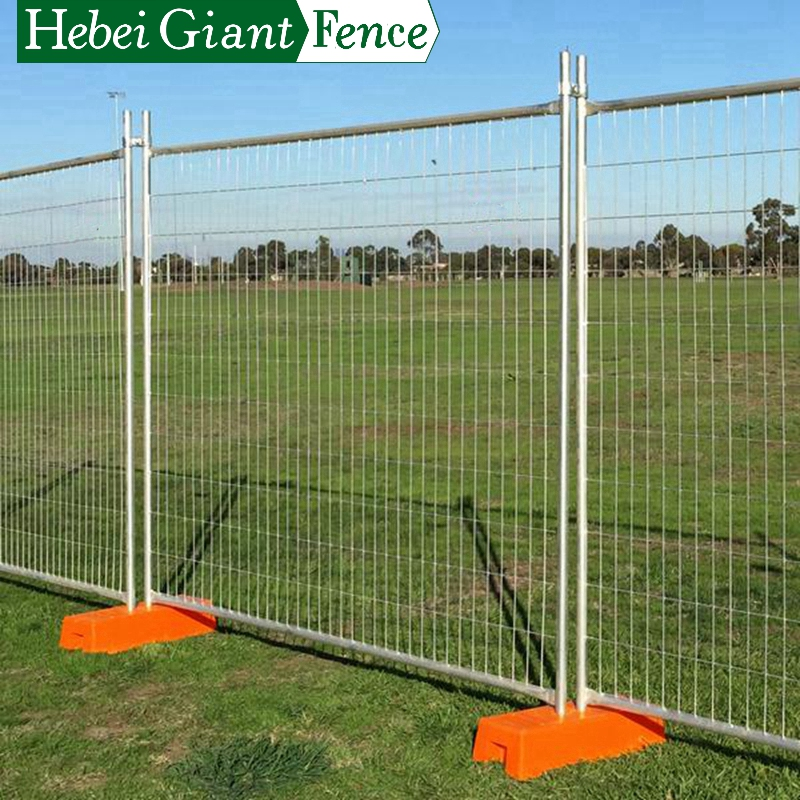 Hebei Giant Welded Movable Temporary No Dig Fence
